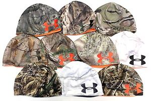 Under Armour UA Reversible Men's Hunting Outdoor Camo Fleece Beanie