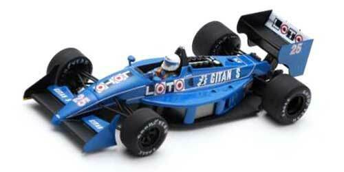 Spark F1 Ligier JS31 René Arnoux 1 43 Monaco GP 1988