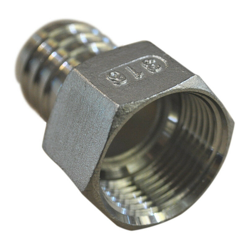 BSP Stainless Pipe Hose Fitting, 316 Stainless Steel With Internal Thread