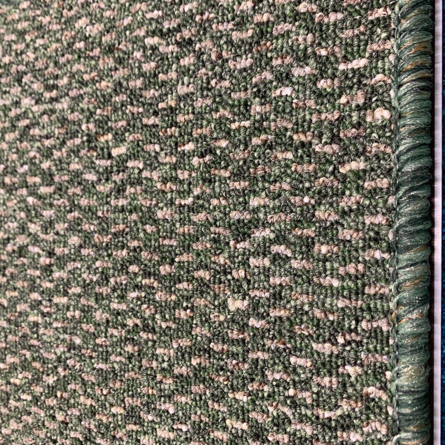 Tappeto da cucina pesanti domestico ufficio Rubin verde resistente .99 M 2