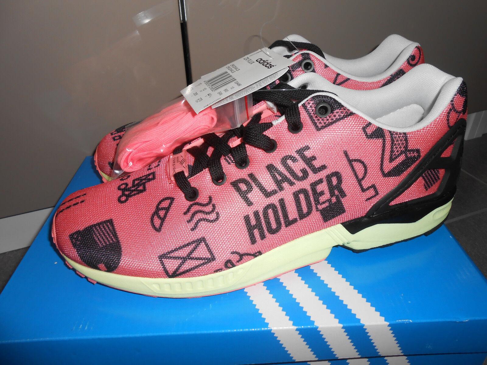 Neu Gr. Adidas ZX Flux Placeholder Gr. Neu 44 2/3 UK 10 Originals pink Torsion B34489 fa8b61