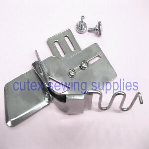 NGOSEW Sewing Machine Raw Edge Braid Plain Tape Binder Folder Attachment with Tape Guide # 7//8MH