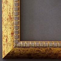Bilderrahmen Rahmen Holz Antik-Still Shabby Turin in Gold 40,0 - Top Qualität