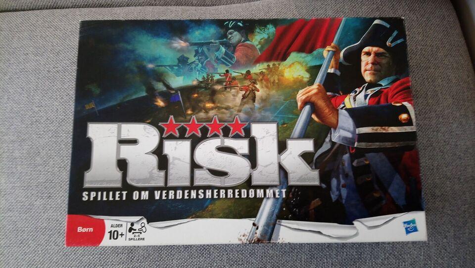 Risk - spillet om verdensherredømmet, Strategispil,