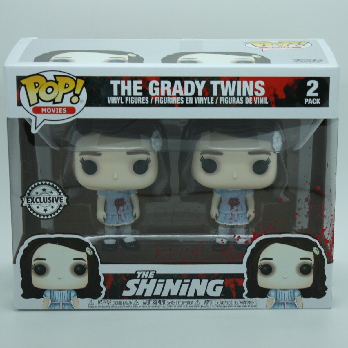 Funko Pop 2-Pack Movies The Shining 20939 The Grady Twins Exclusive Chase