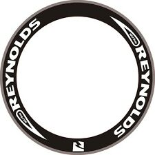 REYNOLDS STRIKE Wheel Rim Decals Stickers Replacement Set Of 8 Bike 700C 2RIMS