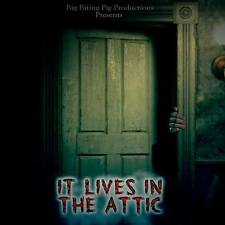 IT LIVES IN THE ATTIC (DVD 2016) Brand New! Sealed!