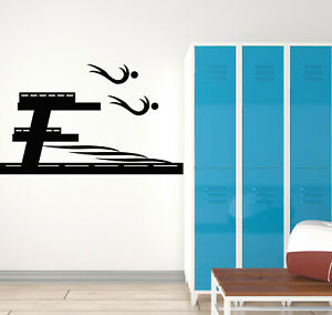 Details about Vinyl Wall Decal Swimming Pool Water Swimmers Water Sports  Stickers Mural (g187)