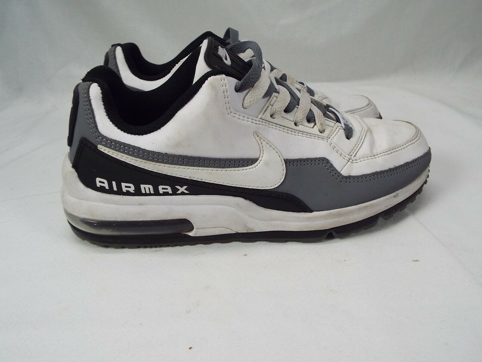 32102c8c4af Mens NIKE Air Max LTD Limited Limited Limited 3 Running Shoes Size 8.5  White Gray Black