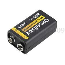 New 9V 800mAh USB Rechargeable Lipo Battery for RC Helicopter Model Microphone