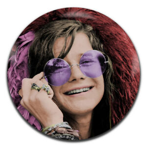 59e06e17fe5 Janis Joplin Rock 60 s Psychedelic Hippie 25mm   1 Inch D Pin Button ...
