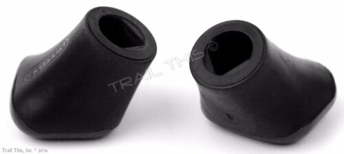 Pack Greenfield Rubber Bicycle Kickstand Boots Two 2 Kick Stand Foot // Shoe