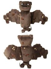 "NEW Minecraft Overworld 7"" Bat 11"" Wing Span Plush Doll Bean Bag Toy Licensed"