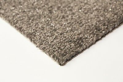 Grey Sparkle Carpet4m WideFELT BackedCheap Clearance Price £6 sqm