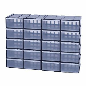 Box-Kiste-Sortierkaesten-Organiser-Sortimentskasten-Schuetten-20x