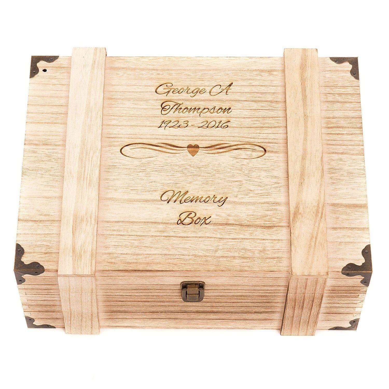 Grandma/'s Knitting Box Large Wooden Keepsake Box Gift HB-42