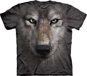 Shirt Tete Unisexe Adulte Mountain Loup De T The q0Ufz1Rc