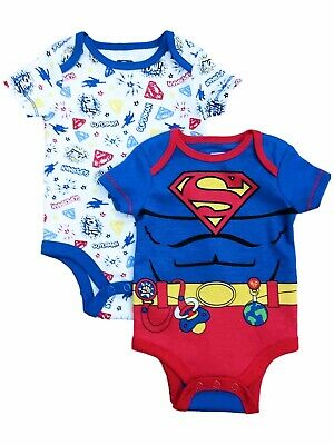 NEW Boys Footed Sleeper 6-9 Mo DC Super Hero Friends Bodysuit Batman Superman