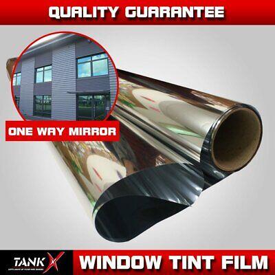 Mirror Window Film Silver Light 35/% Tint Reflection 30 inch X 100 Feet