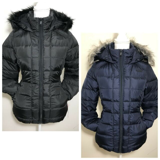 4aad9908f The North Face Women's Gotham Down Jacket Black Urban Navy Blue Sz XS S M L  XL