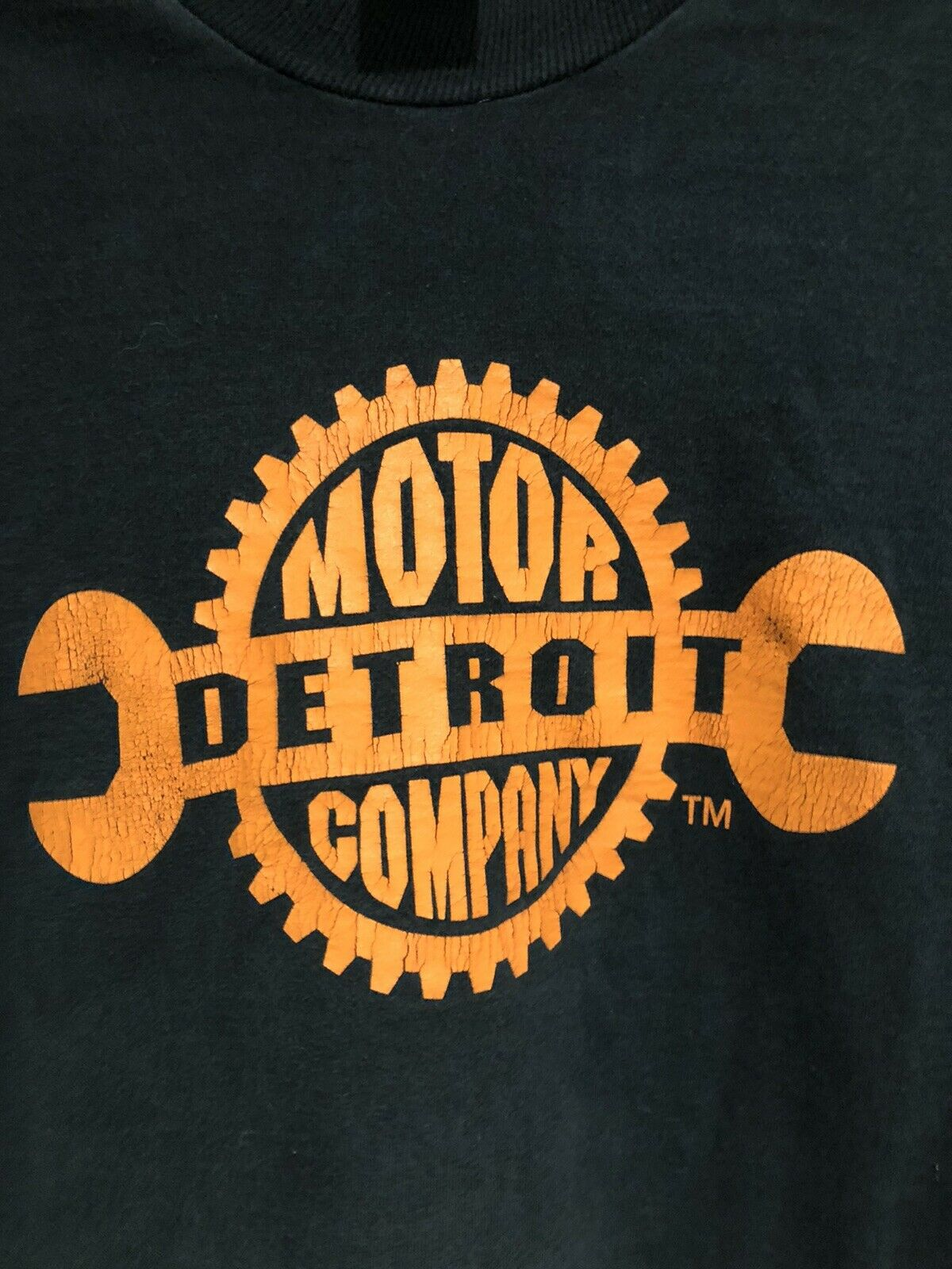 Vintage 90s Detroit Motor Company Long Sleeve T S… - image 2