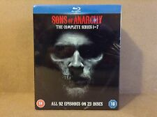 Sons Of Anarchy - Complete Seasons 1-7 [Blu-ray] *BRAND NEW*