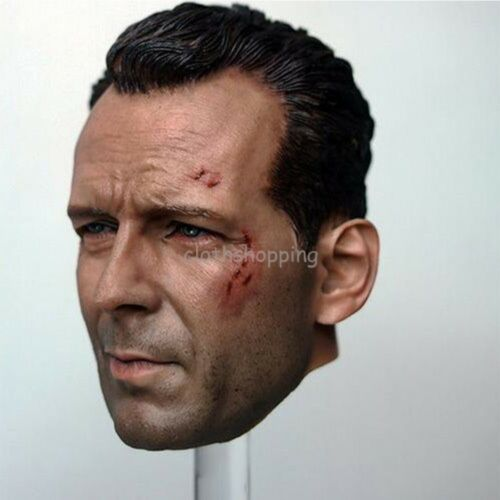 1//6 Figure Headplay Model Action Star Head Sculpt For 12/'/' Male Body Hot Toys
