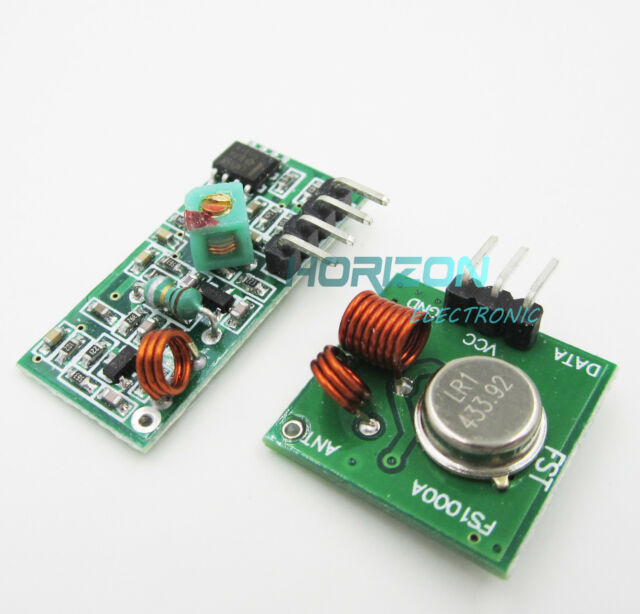 5PCS 433Mhz RF transmitter and receiver kit Arduino ARM WL MCU Raspberry MG5