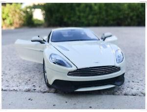 WELLY-1-24-Asten-Martin-Vanquish-Alloy-Racing-Sports-Car-Model-Boys-Toys