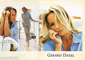 860540df5cae PUBLICITE ADVERTISING 055 1994 GERARD DAREL pret à porter ( 2p ...