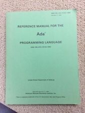 Reference Manual for the Ada Programming Language ANSI/MIL-STD-1815A-1983- 75f