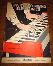 Giacconi - Dogrey: Invito All'Organo Elettronico Volume I - Bèrben