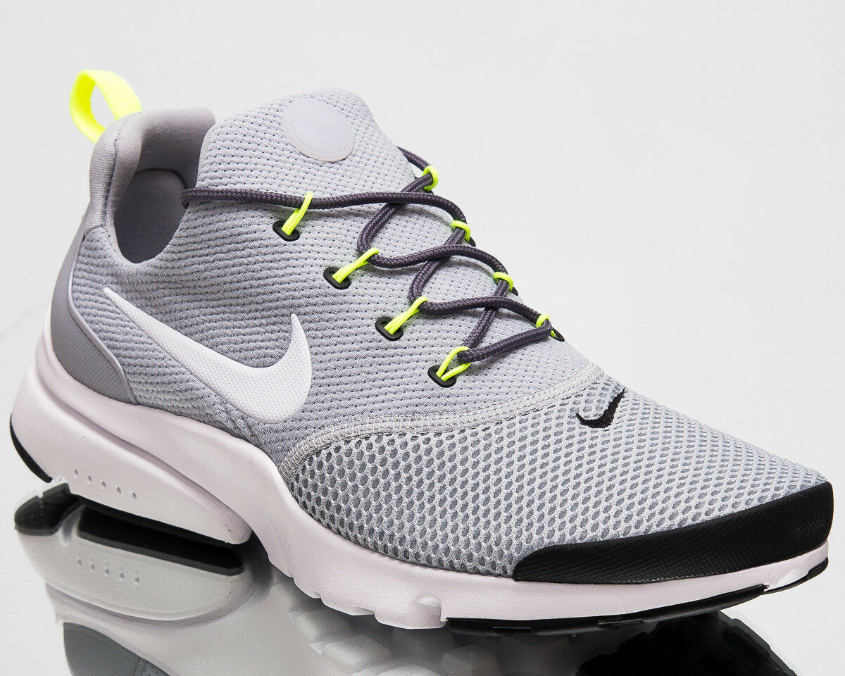 Nike Presto Fly Men Air New shoes Wolf Grey White Black Mens Sneakers 908019-013