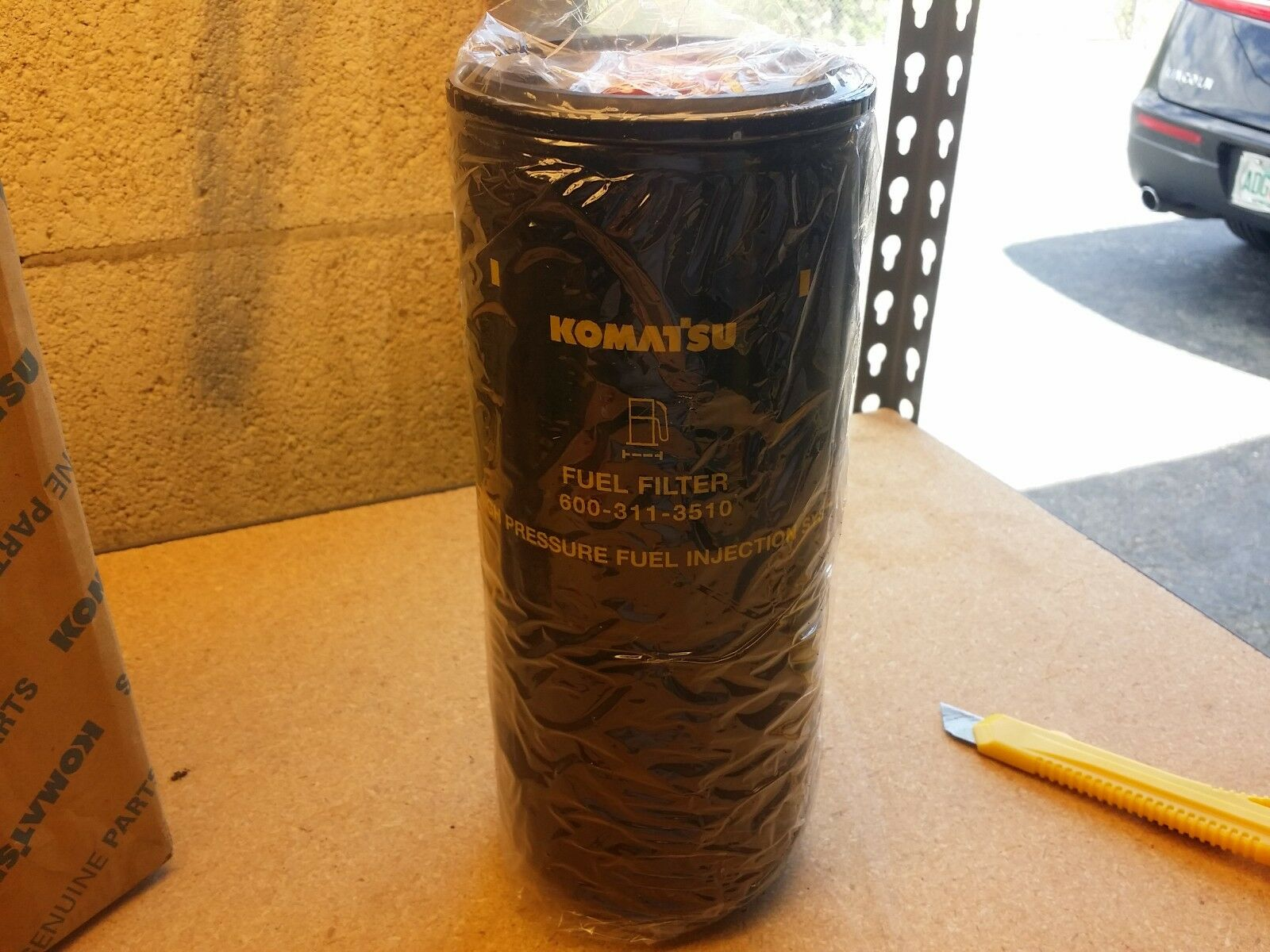Komatsu Pc400lc 7 Fuel Filter 6003193510 Ebay Filters Norton Secured Powered By Verisign