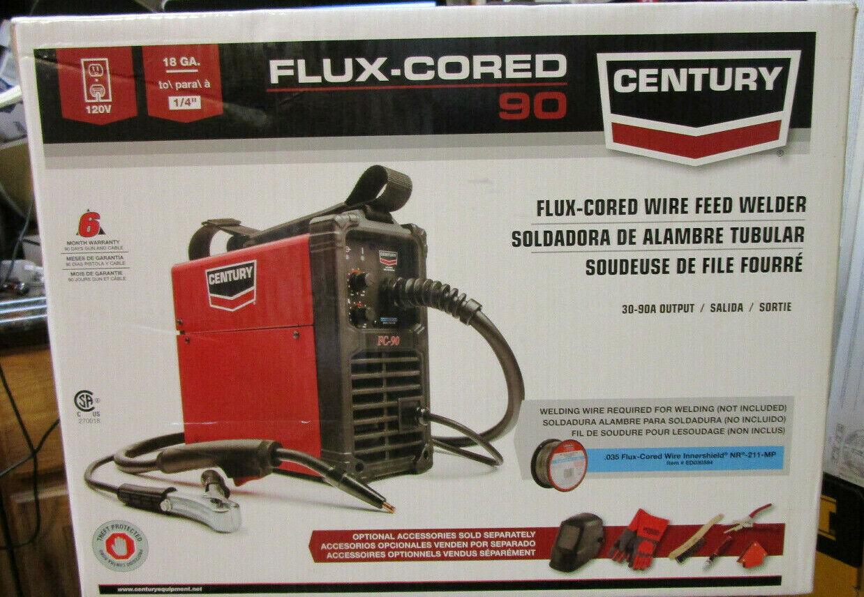 K3493-1 cardon_43 CENTURY K3493-1 FC90 FC 90 FLUX CORED WIRE FEED WELDER & GUN