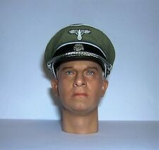DID 3R 1/6th Scale WW2 German Officer's Cap - Sepp Dietrich
