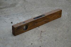 Details About Wooden Level Antiques Old Builder Workshop Ussr Antique Wooden Level