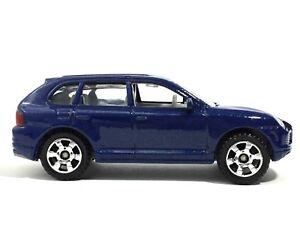 Matchbox-Porsche-Cayenne-Turbo-Metallic-Blue-Die-Cast-1-66-Scale-Loose-MB675