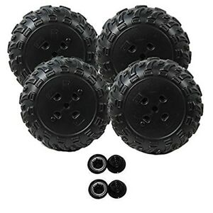 Power-Wheels-L2170-Arctic-Cat-2-Right-Wheels-and-2-Left-Wheels-Kit