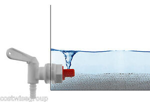 White-lever-tap-with-SEDIMENT-SEPARATOR-for-home-brew-wine-fermentation-bucket
