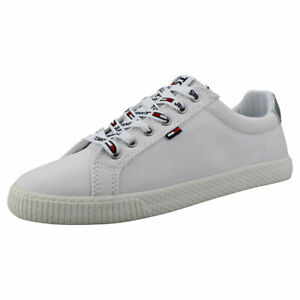 Tommy Jeans Casual Sneaker Womens White