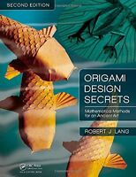Origami Design Secrets: Mathematical Methods For An Ancient Art, Second Edition on sale