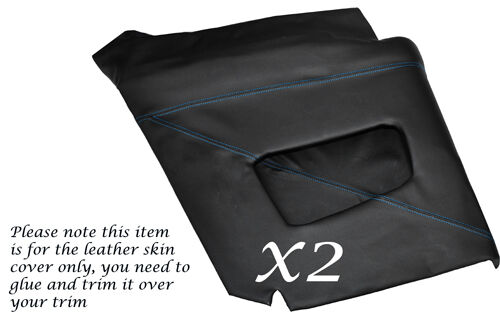 BLUE STITCHING FITS TRIUMPH STAG MK1 MK2 DASH DASHBOARD LEATHER SKIN COVER ONLY