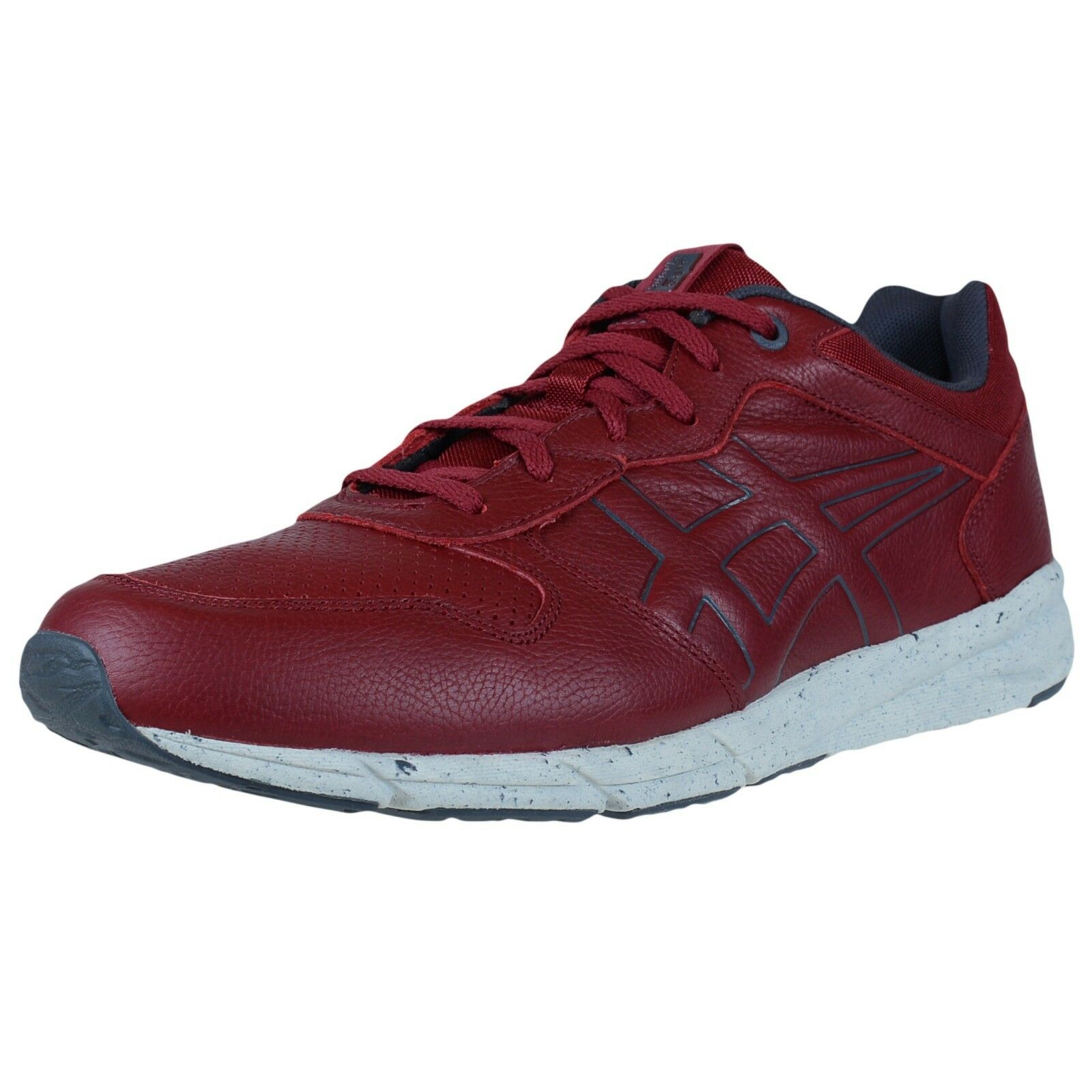 ASICS ONITSUKA TIGER SHAW RUNNER FASHION SNEAKERS BURGUNDY D4P1L 2525