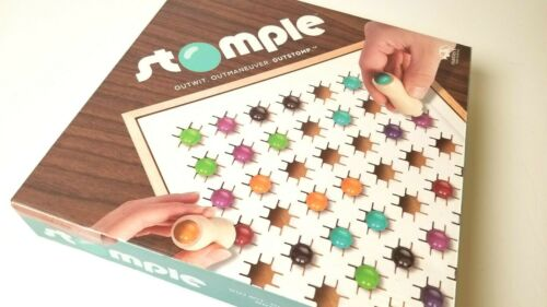 Stomple Marble Stomping Strategic Board Game New Sealed