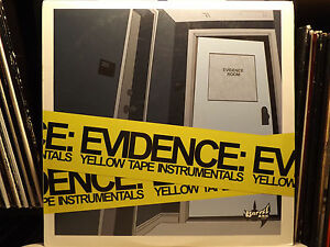 EVIDENCE-YELLOW-TAPE-INSTRUMENTALS-VINYL-2LP-2003-RARE-DILATED-PEOPLES