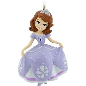 Hallmark-2014-Sofia-the-First-Disney-Christmas-Ornament-Collectors-Edition-NEW