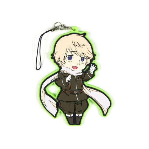 Anime Axis Power Hetalia Rubber Key Chain Key Ring Cosplay Cadeau Nouveau