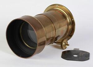 Large J. H. Dallmeyer 3 A Brass Lens No. 65164