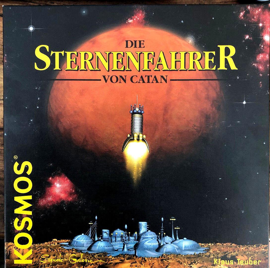 Très, la surprise vous attend attend attend Les étoiles conducteurs de Catane-Cosmos-K. Teuber-pas écouté-poo - 1999-De adcc45